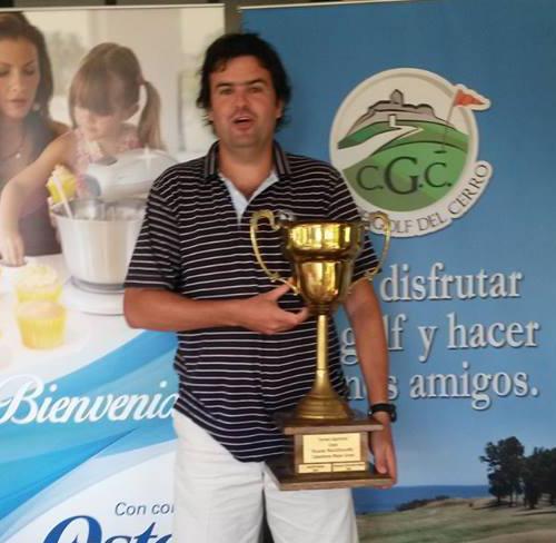 Pablo Faget campeón del Abierto de la República en el Club de Golf del Cerro