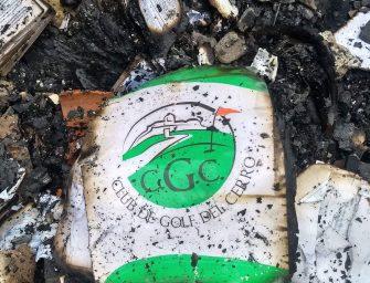 Devastador y angustiante: ardió el Club de Golf del Cerro