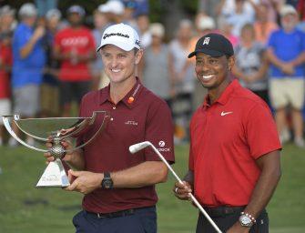 Tiger Woods ganó bien y festejó en el Tour Championship; Justin Rose campeón de la FedEx Cup