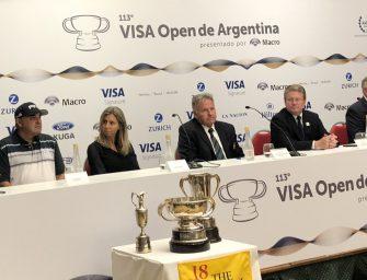Exitosa conferencia de prensa de la 113ª edición del Visa Open de Argentina en el Hilton Pilar