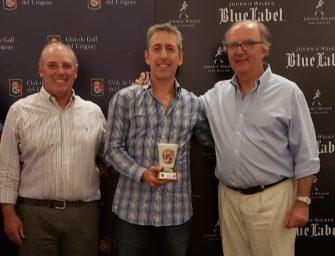 Rubén Azar, Mario Albarracín y Jorge Sosa ganaron en el torneo Senior de la AUGS