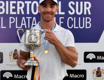 """""""Tano""""Goya fue el campeón en la """"Catedral"""" del golf sudamericano"""