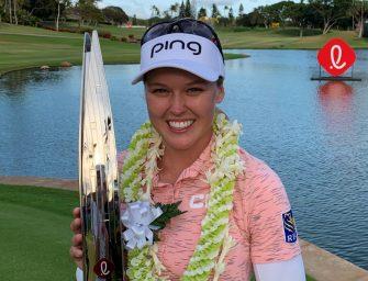 Brooke Henderson triunfó en Hawaii