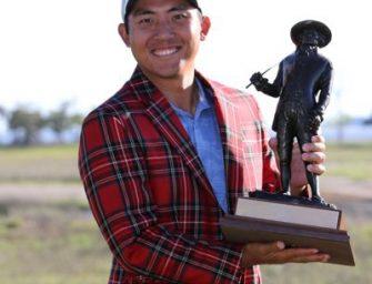 Cheng-tsung Pan logró su primera victoria en el PGA Tour
