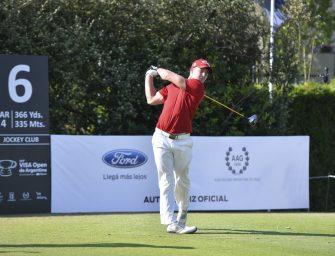 El sudafricano Lange es el líder en el Visa Open de Argentina