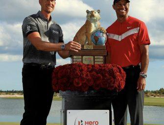 Henrik Stenson ganó el Hero World Challenge