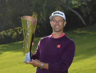 Adam Scott ganó y llegó a 14 títulos en el PGA TOUR