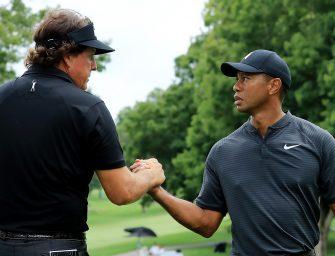 Este domingo habrá acción con Tiger Woods y Phil Mickelson