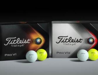 Titleist lanzó la nueva PRO V1 y PRO V1x