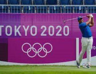 Comenzó la disputa del golf olímpico.