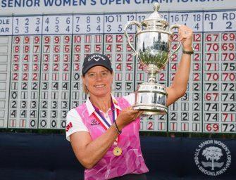 Annika Sörenstam campeona del US Senior Women´s Open