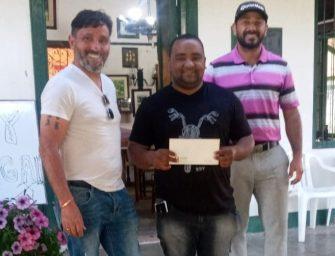 Juan Alvarez ganó en Fray Bentos Golf Club